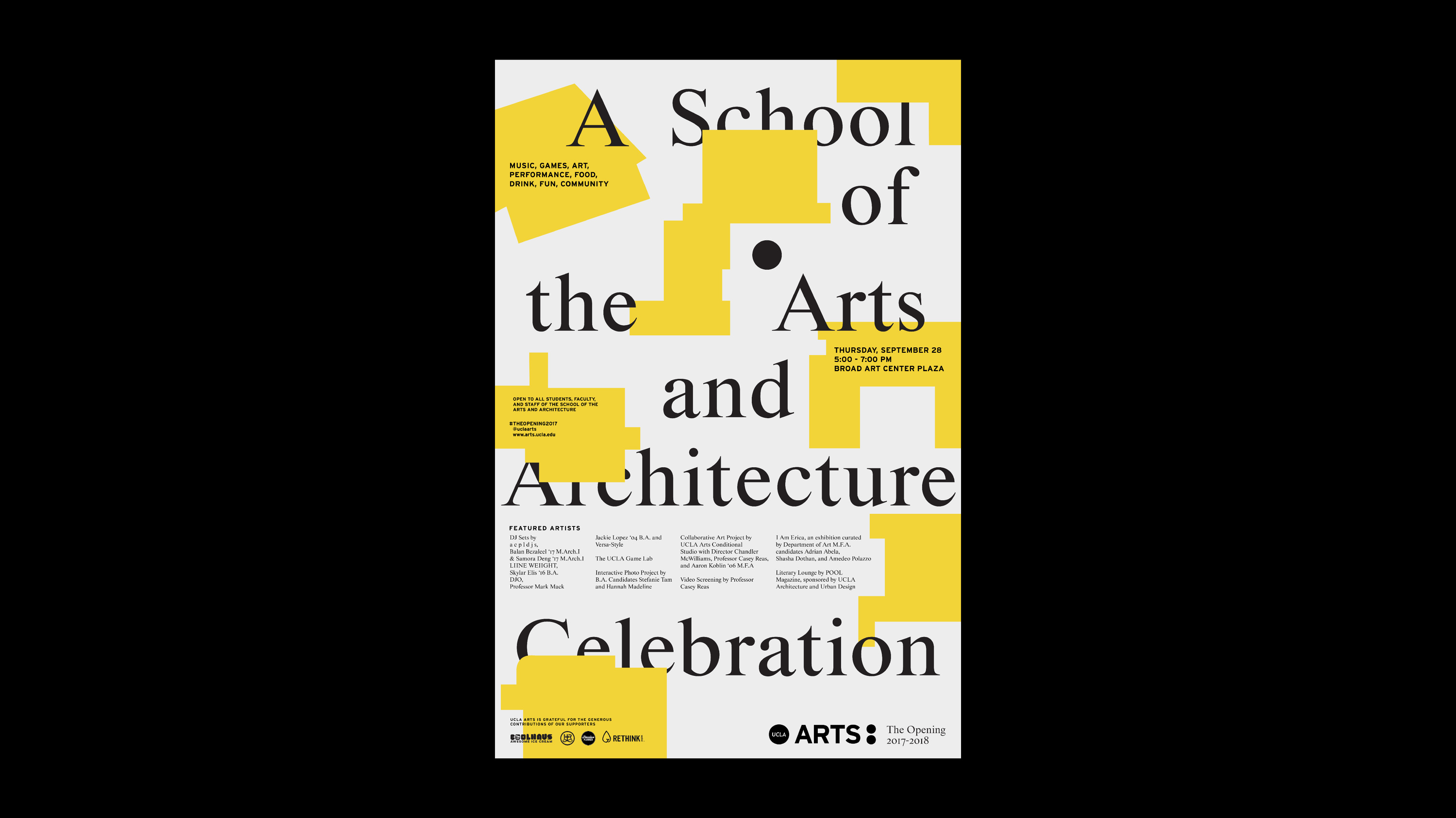 UCLA SCHOOL OF THE ARTS ARCHITECTURE Sophia Arriolagibson - Ucla arts and architecture
