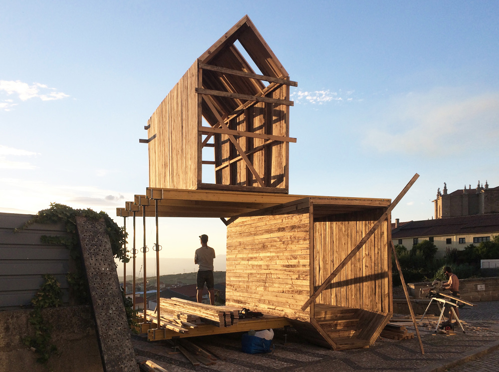 Captivating Untitled (The Unknown) Is An Autoconstructed Temporary Sculpture That Houses  In Its Core Two Levels Of Specific Knowledge About The Village Of Torre De  ...